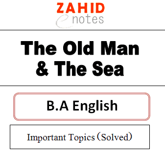 Ba English Notes old man and the sea important questions