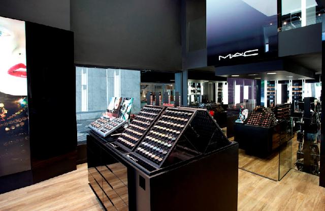 Loja de maquiagem MAC em Amsterdã