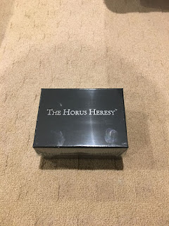 Forgeworld Horus Heresy box shrinkwrapped