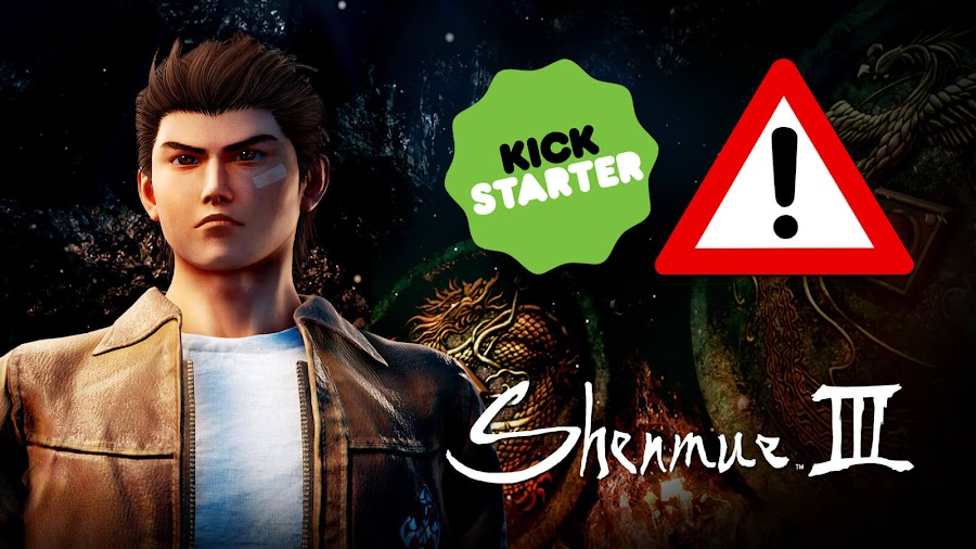 shenmue 3 epic store exclusivity kickstarter controversy yu suzuki game
