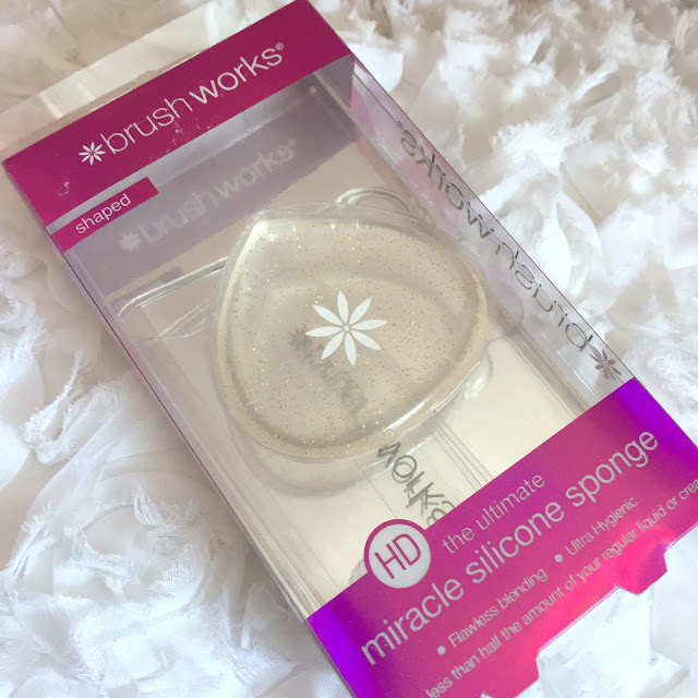 Brushworks HD Miracle Silicone Sponge - Glitter