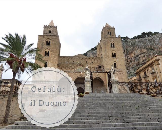 Cefalù: le torri e la facciata della Cattedrale
