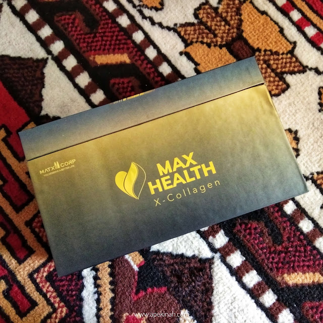 Max Health X-collagen, Produk Kolagen, Collagen product, Matxi Corp product