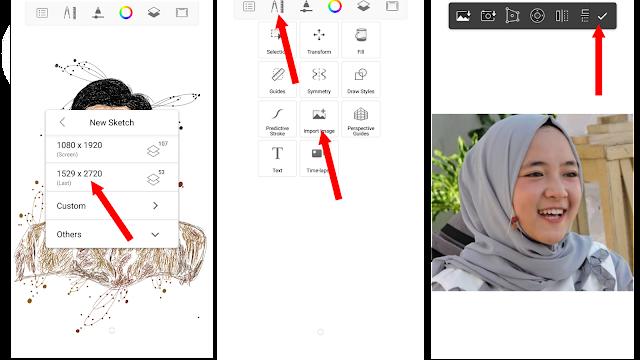 Cara Mudah Membuat Scribble Art di Sketchbook