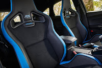 Ford Focus RS with Ford Performance Option Pack (2017) Interior