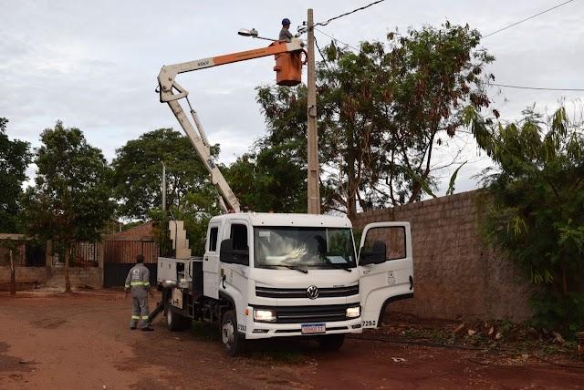 Goiânia: Iluminação pública do bairro JK começa a ser instalada