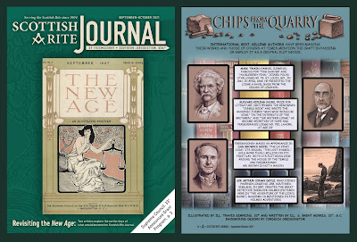 Scottish Rite Journal. Supreme Council, 33°, SJ. Chips from the Quarry. Art by Travis Simpkins
