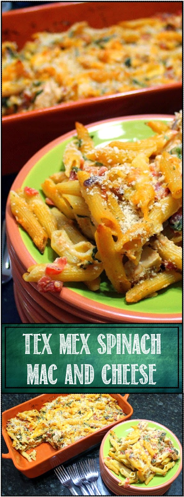 52 Ways to Cook: Tex-Mex Spinach Mac and Cheese - 52 Uses ...