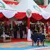 Dandim 0910/Malinau Hadiri Upacara Bendera dalam rangka Kemerdekaan Republik Indonesia Ke - 75 Tahun 2020