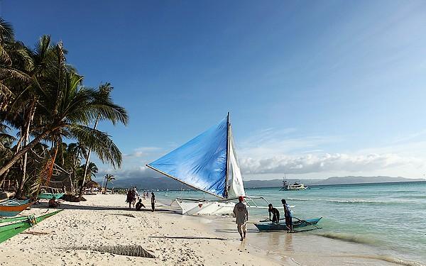 Filipinas - Praia Branca