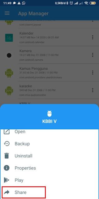 Cara Mengirim Aplikasi lewat Whataspp (3)