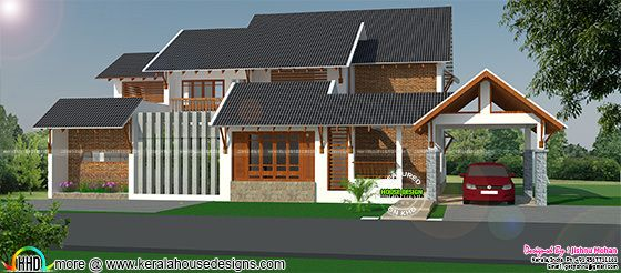 2500 sq-ft house in 10 cent land