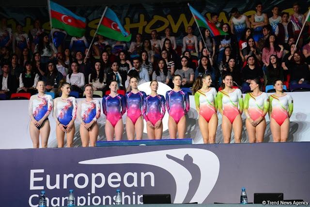 GIMNASIA TRAMPOLÍN - Campeonato de Europa 2018 (Bakú, Azerbaiyán)