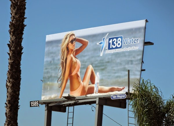 138 Water Lexie Marlow bikini billboard