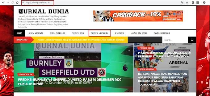 Prediksi Bet MixParlay Di Pindahkan Ke www.JurnalDunia.id