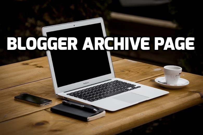 Blogger archive page