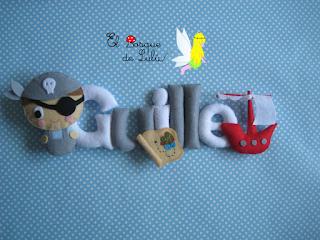 nombre-en-fieltro-Guille-elbosquedelulu-hechoamanoparati-name-banner-felt-feltro-regalo-nacimiento-personalizado