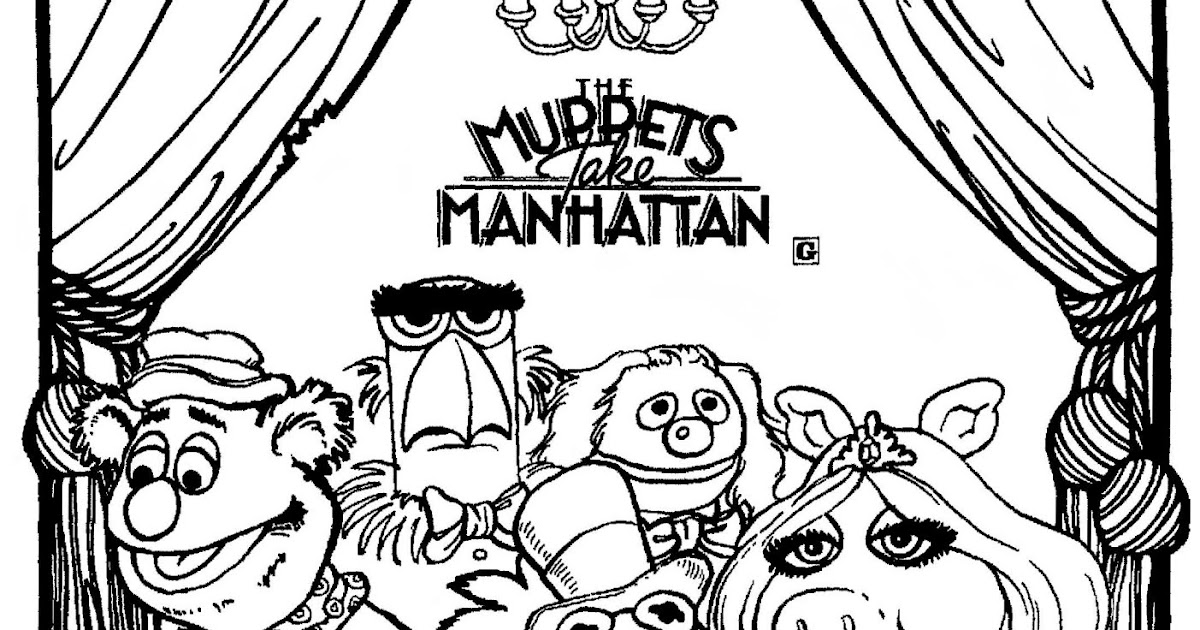 Mostly Paper Dolls: THE MUPPETS TAKE MANHATTAN