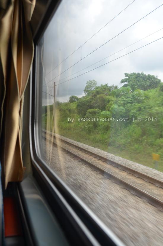 8 Bandar Menerusi KTM Intercity