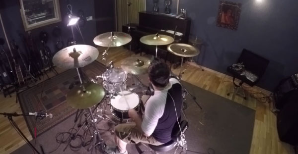 "Belvedere release drum playthrough for ""Years"""