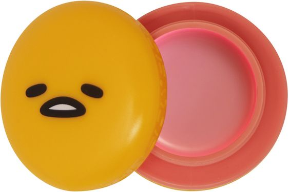 Gudetama Peach Gummies Lip Balm
