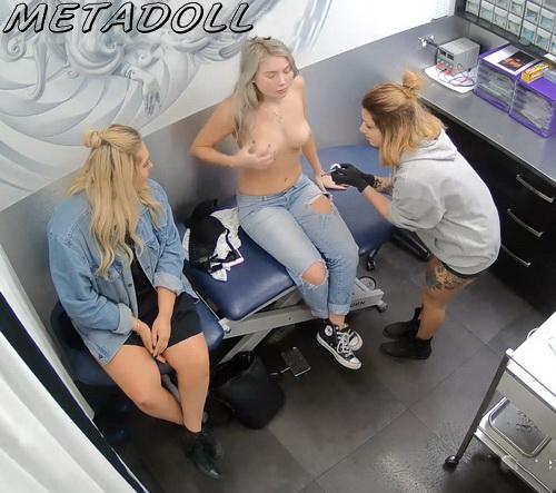 Voyeur Cam Recording Girls Sexy Pierced Pussy And Breast -2284