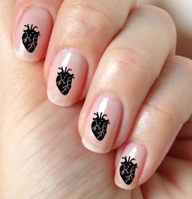 Nail punk art
