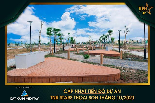 Khu đô thị TNR Stars Thoại Sơn - tiến độ tháng 10/2020