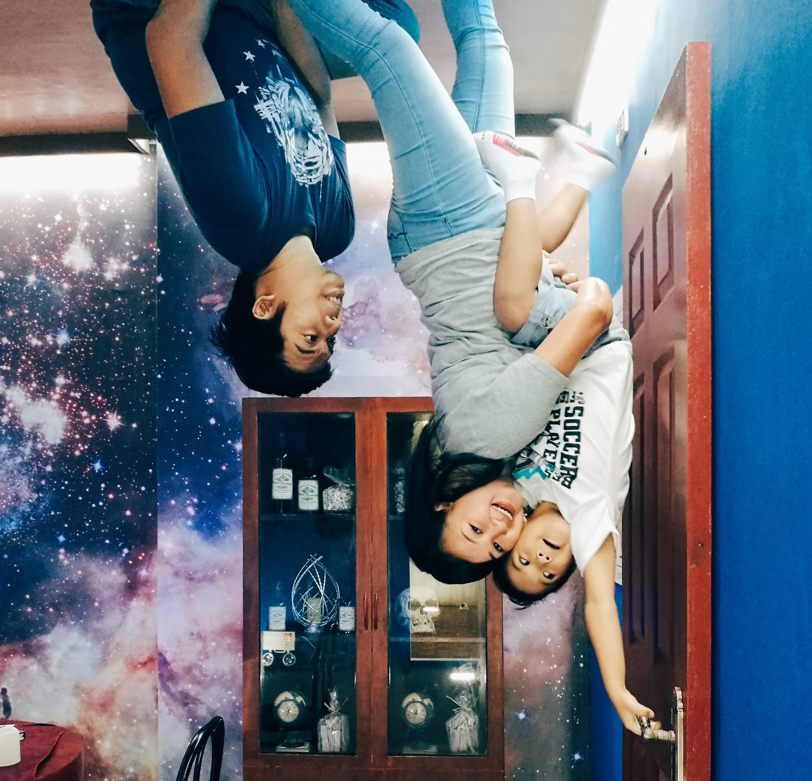 Turning Our World Upside Down at Upside Down World Cebu