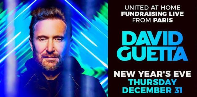 NOUVEL AN 2021 : UN CONCERT DE DAVID GUETTA EN LIVE STREAMING !