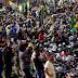 """Mega """"motociata"""" chega ao fim, Bolsonaro é ovacionado e leva mais de 40 mil motos e 100 mil pessoas as ruas do Rio de Janeiro"""