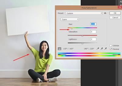 Cara Mudah Mengubah Warna Desain Baju di Photoshop
