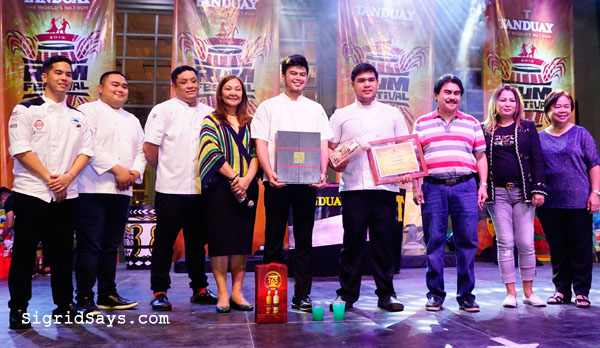 Anne Bistro - Bacolod chefs - Chef Dan Altarejos - Bacolod restaurants - Culinaria Cooking with Rum competition