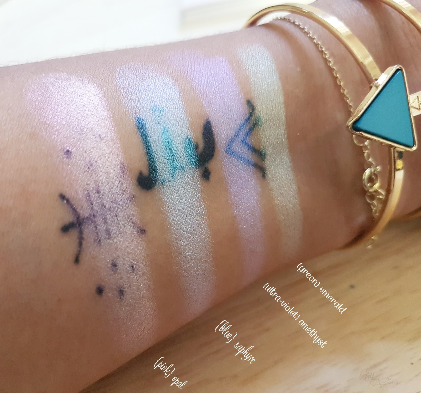 alchemist_holographic_palette_kat_von_d_swatch_dupe_makeup_avis_code_promo
