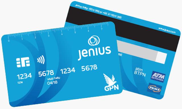 Mengenal X-Card Dari Aplikasi Jenius GPN
