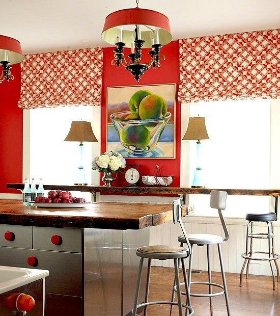 15 Red Kitchen Ideas   Home Designs Plans