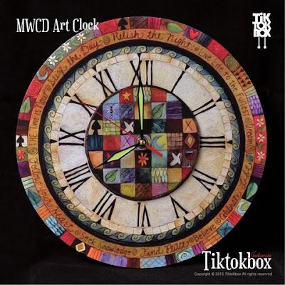 MWCD ART CLOCK