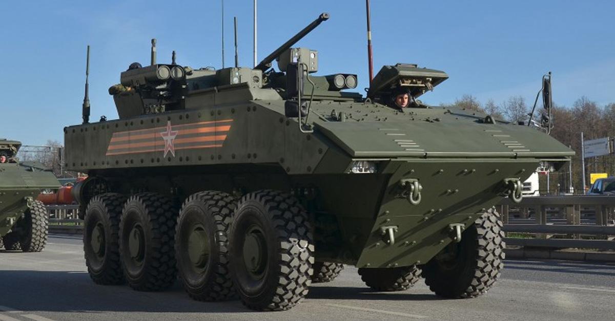 Bumerang Armored Vehicle