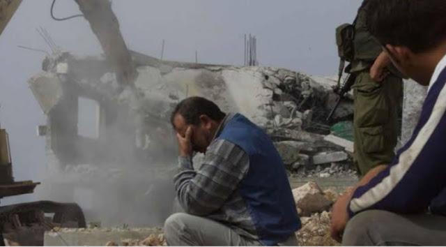 مواصلة الاحتلال فى هدم المنازل بغزة
