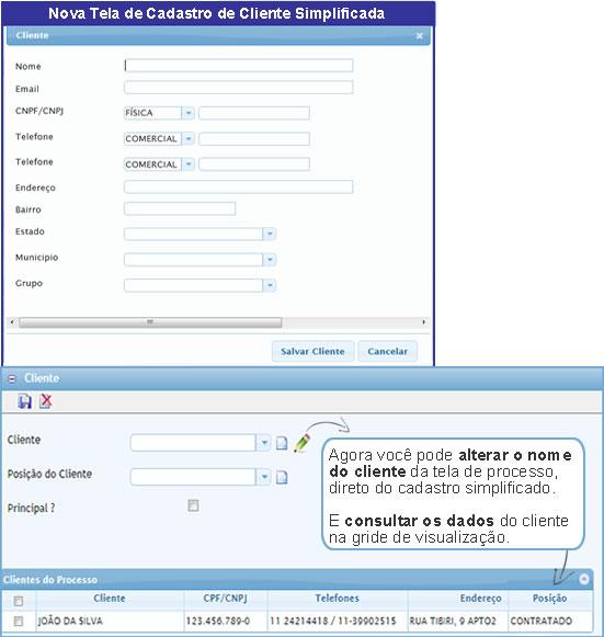 , GPJWEB Novidade – Conheça o novo cadastro de cliente simplificado