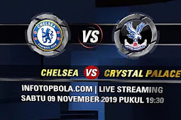 Live Streaming Chelsea vs Crystal Palace