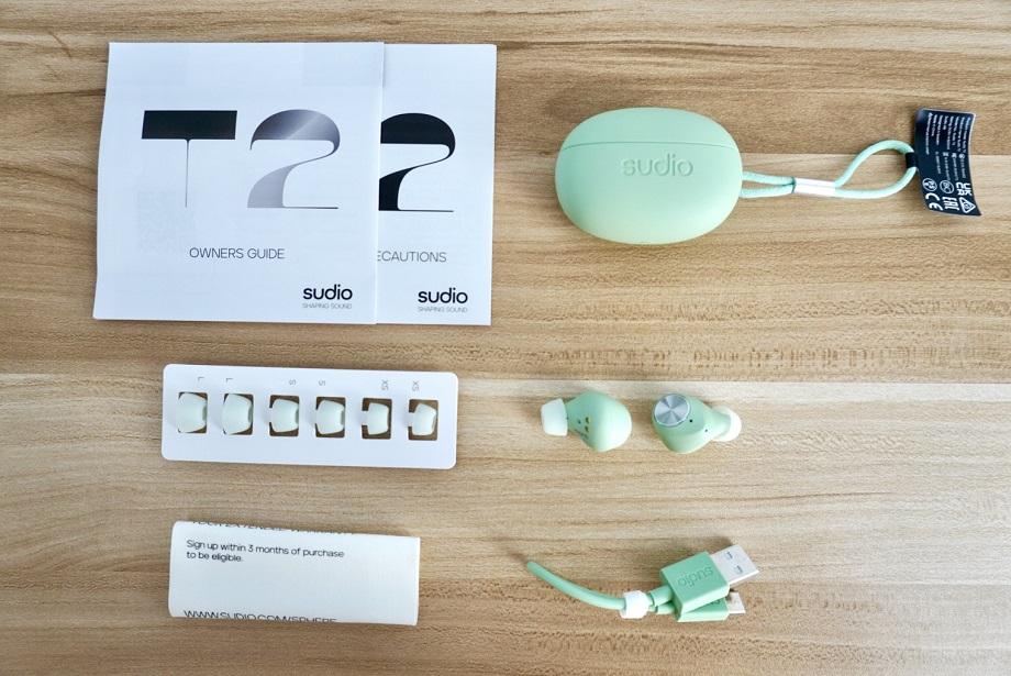 Sudio T2 TWS Earphones Unboxing