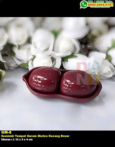 Souvenir Tempat Garam Merica Kacang Besar