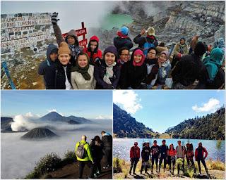 Ijen Crater, Mount Bromo, Kumbolo Camping Tour 4 Days