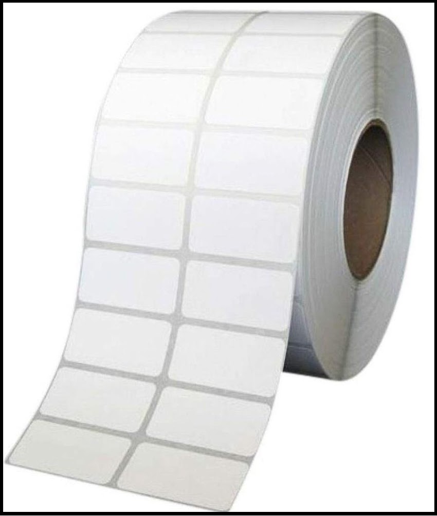 Barcode Label Sticker Roll Any Size