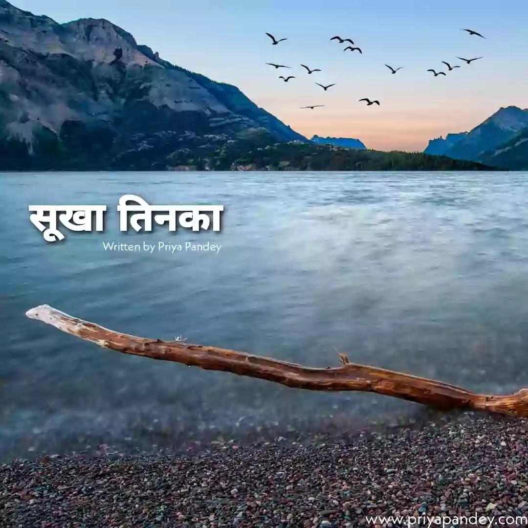 सूखा तिनका Heart Touching Hindi Poetry Quotes Written By Priya Pandey 2021 Hindi Poem, Poetry, Quotes, कविता, Written by Priya Pandey Author and Hindi Content Writer. हिंदी कहानियां, हिंदी कविताएं, विचार, लेख.