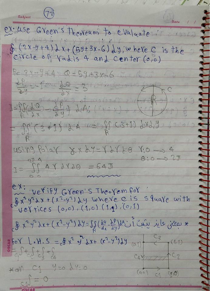 green theorem