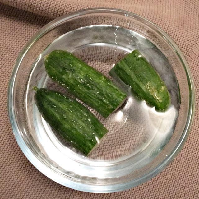 En sliten agurk kan du gjenopplive i iskaldt vann