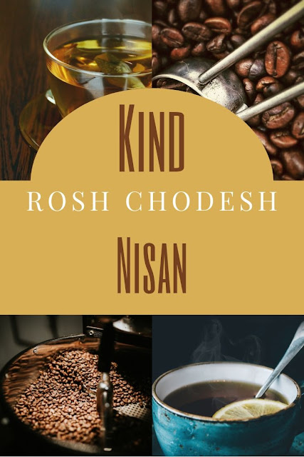 Happy Rosh Chodesh Nisan Greeting Card | 10 Free Beautiful Cards | Happy New Month | First Jewish Month