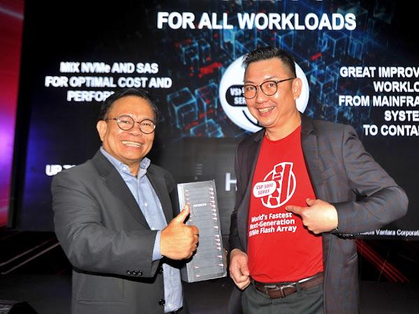 Hitachi Virtual Storage Platform 5000 Series dan Software Hitachi Ops Center Terbaru